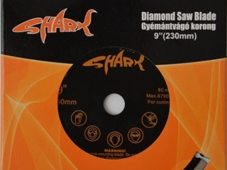 Disc diamantat UNI 180x22 Shark